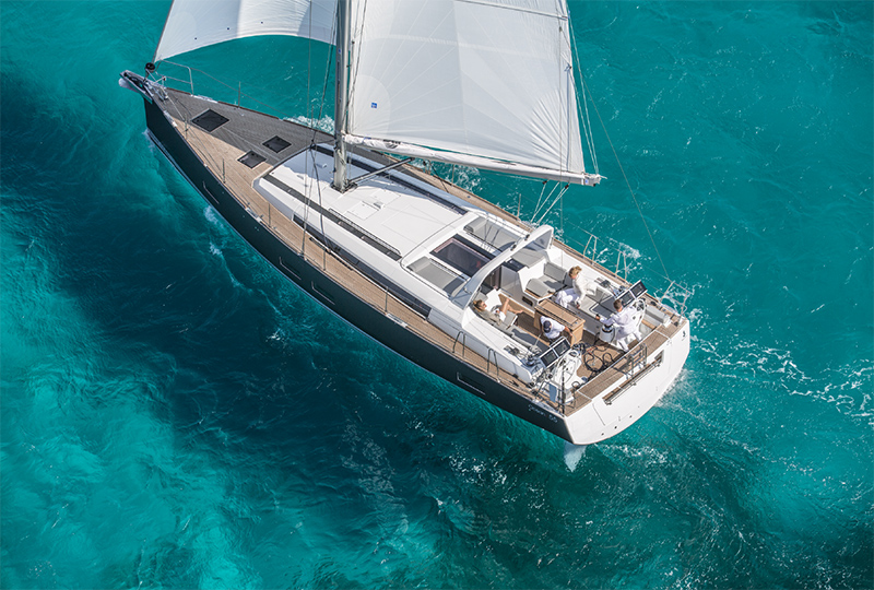 Sail Ionian Yacht GOOD VIBRATIONS (55ft)