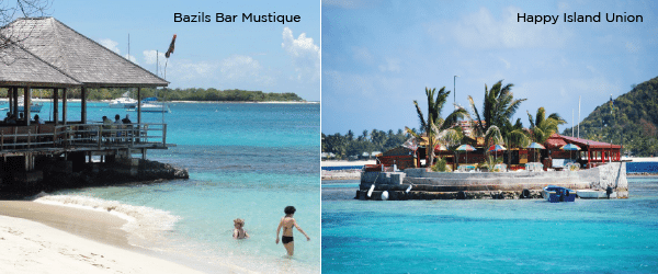 Sailing charter to Mustique