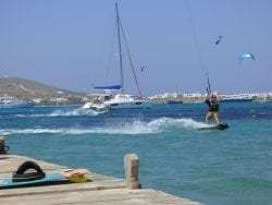 Kiteing in the Grenadines