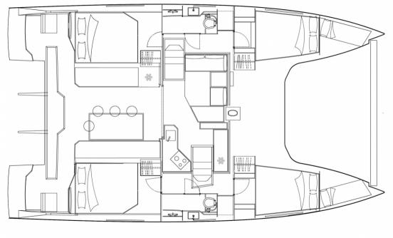 Nautitech Open 40 (4 Cabin)