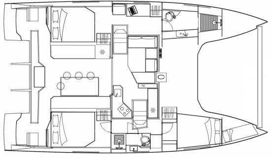 Nautitech Open 40 (3 Cabins)